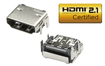 HDMI 2.1 Receptacle
