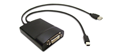 DisplayPort (330 MHz) to Dual-link DVI 轉接器