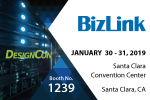 Welcome to visit BizLink's booth 1239 at DesignCon 2019